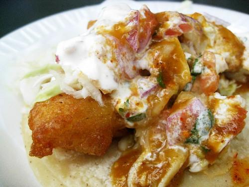 6 Stop Fish Taco Crawl: Tacos Baja