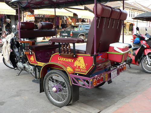 Red bull themed Tuk Tuk