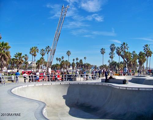 venice skate park fire rescue