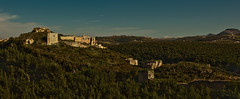 (jonmartin ()) Tags: building tower castle architecture forest landscape outdoors ruins asia afternoon outdoor citadel towers structures palace architectural valley syria walls lush activity fortress crusaders activities saladin crusades edifice edifices lattakia latakia 06000000 06007000 cvkc
