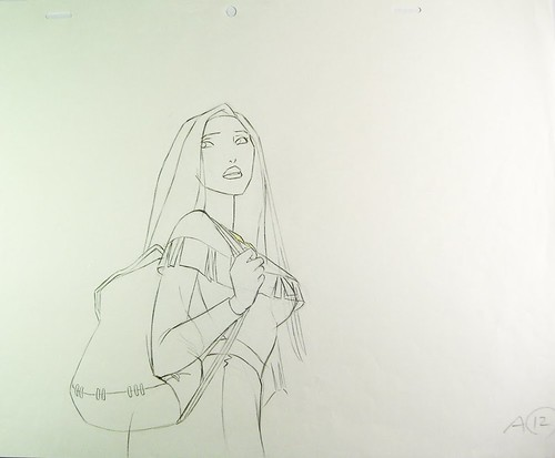 *32 - Pocahontas Original drawing