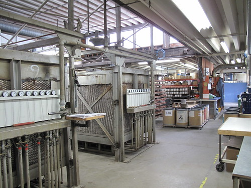 Kilns at the Heath Ceramics Factory
