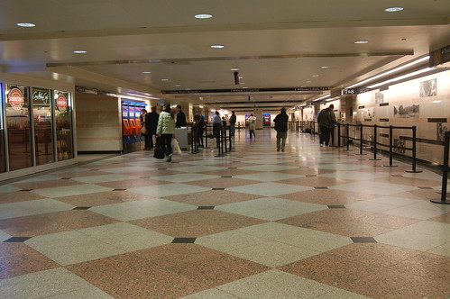 Penn Station Upper Level - NJT waiting area