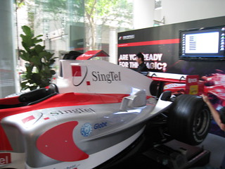 SingTel F1 Simulators