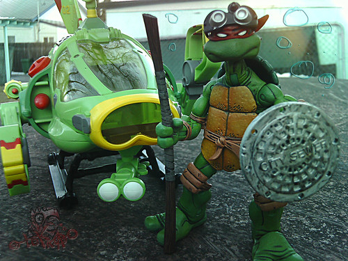 Teenage Mutant Ninja Turtles :: SHELL SUB..; Donatello's favourite sea FARIN' INVENTION