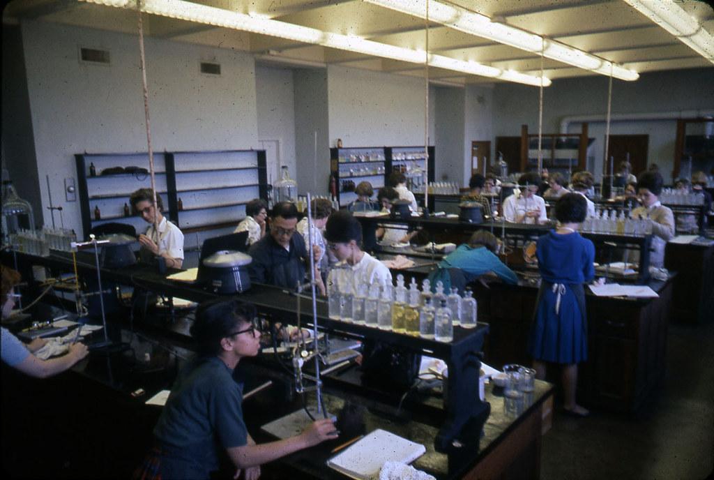 Chemistry Lab ASH 1964