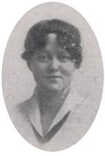 Ramona Deakyne Grandview High School 1918 by UA Archives  Upper Arlington History