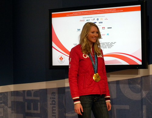 Ashleigh McIvor talking about her gold medal performance