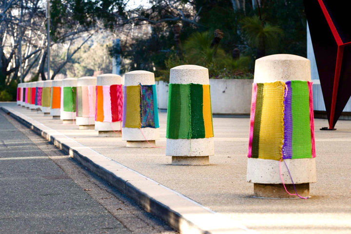 KnittaPlease at National Gallery of Australia