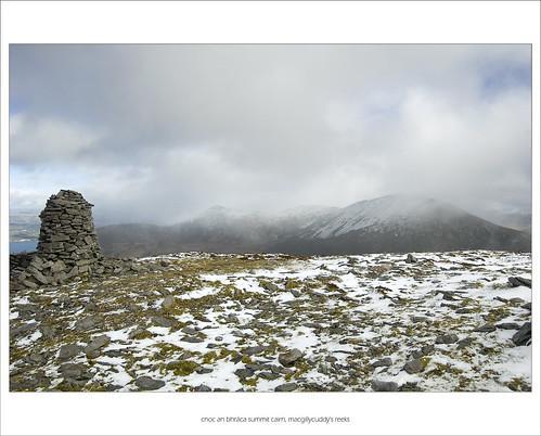 Cnoc an Bhraca Summit Cairn