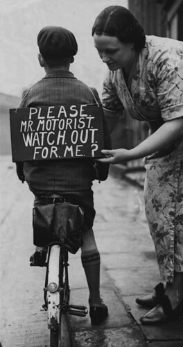 Please Mr Motorist Watch Out For Me