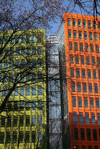 multicoloured buildings