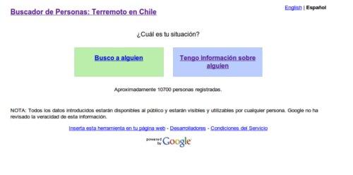 Buscar personas en Chile