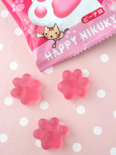 cat paw gummi candy