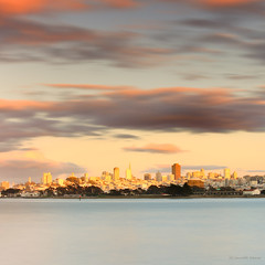San Francisco Skyline (Saurabh Deoras Photography) Tags: california ca city longexposure sunset usa storm water skyline clouds highresolution waves cityscapes fineartphotography fogcity sanfranciscoskyline leefilters sanfranciscophotography singhrayfilters ndgradfilters 5dmkii bayareaphotography bayareaseascapes