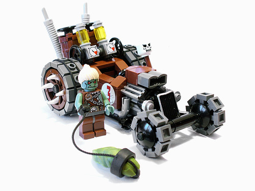 LEGO Castle orc car