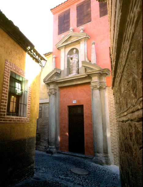 Portada de San Torcuato tras ser restaurada. Cortesía de José María Moreno