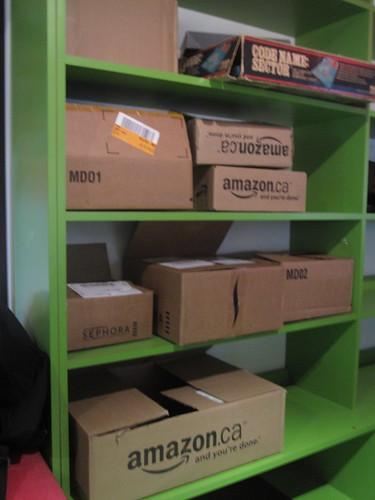 On aime magasiner en ligne :)