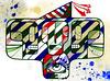 Subconsciente (. ♦ F L F ♦ .) Tags: portrait color eye art halloween colors cores poster dead skeleton skull design ghost pop textures strip muertos bone arrow olho tatoo seta caveira grafite walpaper crânio listra eskeleton cranio franciscofreitas