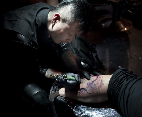 Revolver tattoo party at Last Rites