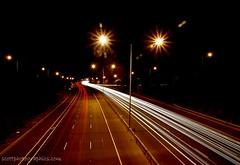 Eastern Freeway Car Lights (Michael Scott | scottphotographics.com) Tags: car lights australia melbourne freeway eastern carlights streaming