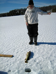 First Pike (REGOR NOTPUL) Tags: fishing icefishing qubs fisheriesresearch