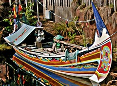 Indian Fishing Boat, Anandapur, Asia Section, Animal Kingdom, Disney World