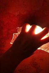 ice&light (saapata) Tags: light berlin ice me water self kreuzberg spring melting warm hand nosnow saapata