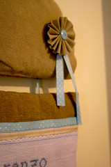 IMG_1839 (VaBoDesign) Tags: blue baby brown nature diy beige handmade linen stripes sew pillow cotton ribbon hedgehog sewingmachine homedecor skyblue embrodery vabo