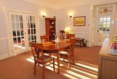 Dining room (Kiltearn Guest House, Scottish Highlands) Tags: modern breakfast dinner scotland dining bb eveningmeal guesthouse scottishhighlands continentalbreakfast oldmanse kiltearn kiltearnhouse