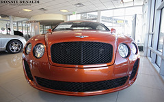 BentleyCSS_15Feb2010_01 (ronnierenaldi.com) Tags: orange continental flame coupe bentley 2010 supersports