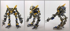 BEWR R.S4 Telepresence Unit (n.stauffer) Tags: lego scifi sciencefiction bipedal mech moc rov remoteoperatedvehicle