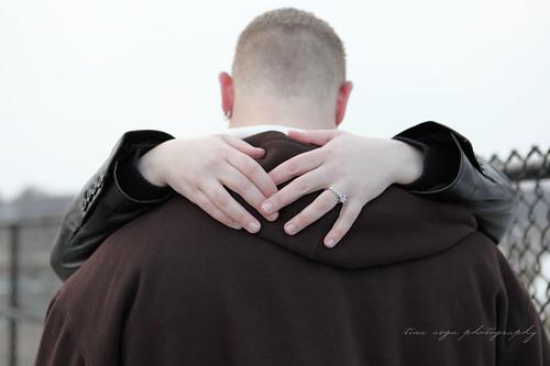 hugging