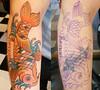 koi fish tattoo Craigy Lee Tattoo