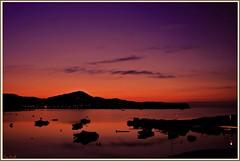 ORANGE DAWN (Pepe Rosell) Tags: sea sky seascape beach clouds sunrise island dawn mar mediterranean mediterraneo alba playa amanecer ibiza cielo eivissa hdr mediterranee ibizaisland