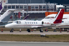 G-JBLZ - 550-1018 - Private - Cessna 550B Citation Bravo - Luton - 100309 - Steven Gray - IMG_8016