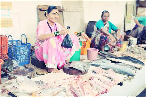 Life Of A Foreigner In India Fish Market In Bandra Mumbai