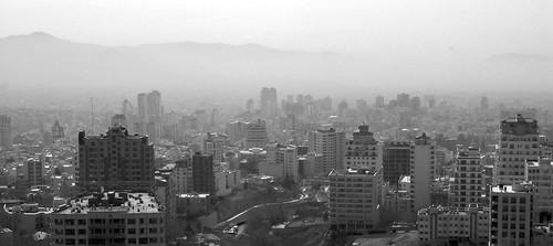 Tehran in the smog