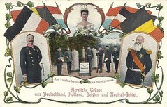 Grüße aus Deutschland, Holland, Belgien und Neutral-Gebiet um 1905 (Miss Mertens) Tags: holland netherlands dutch amsterdam king princess postcard royal prince queen rey re kaiser regina reine royalty monarchy cartolina adel oldfashioned roi prinz könig postkarte principe königin koningin principessa prinzessin niederland monarchie monarchia kaiserin picturecard paybas vorsten koningshuizen casareale