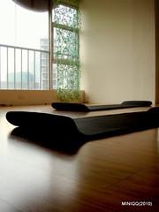 光陰地圖 013_瑜珈(20100313) (miniQQ) Tags: 瑜珈 教室 落地窗 木頭地板 光陰地圖