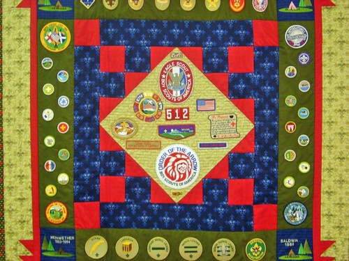 Boy Scout Tribute Quilt
