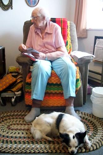 grandma and mo
