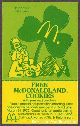 McDonald's Leprechaun