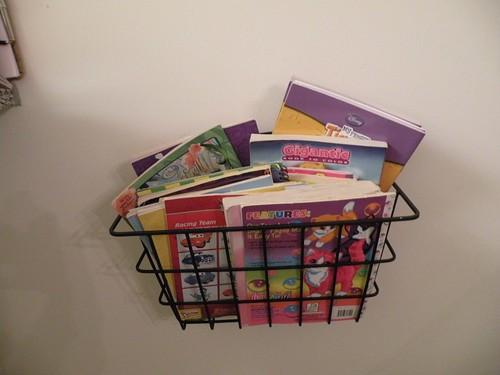 Coloring Book Storage, round 1