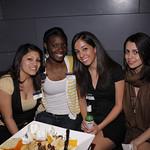 Jenny Reyes (COL '09), Jennifer Johnson (NHS '09), Jackie Mendez (MSB '09), Yvonne Mejia (MSB '09)