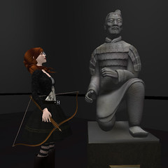 LT and the archer (hopscotch-uemeu) Tags: avatar rezzable heritagekey