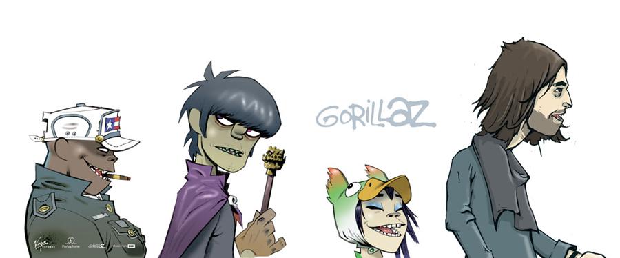gorillaz style