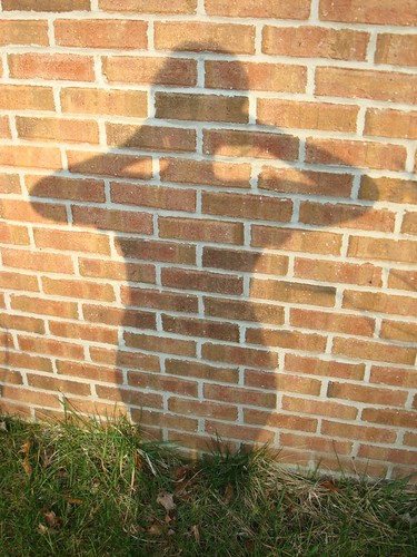 Self Portrait on Brick