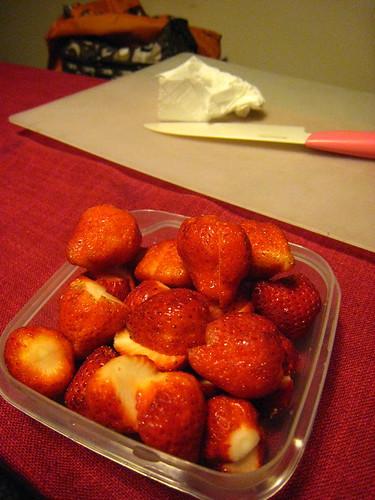 草莓卡士達泡芙 (15)