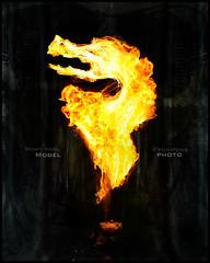 Dragonsbreath (Von Wong) Tags: romy fire dragon dancing flames breath noel burning abandonned romyfirebreathing firevonwong